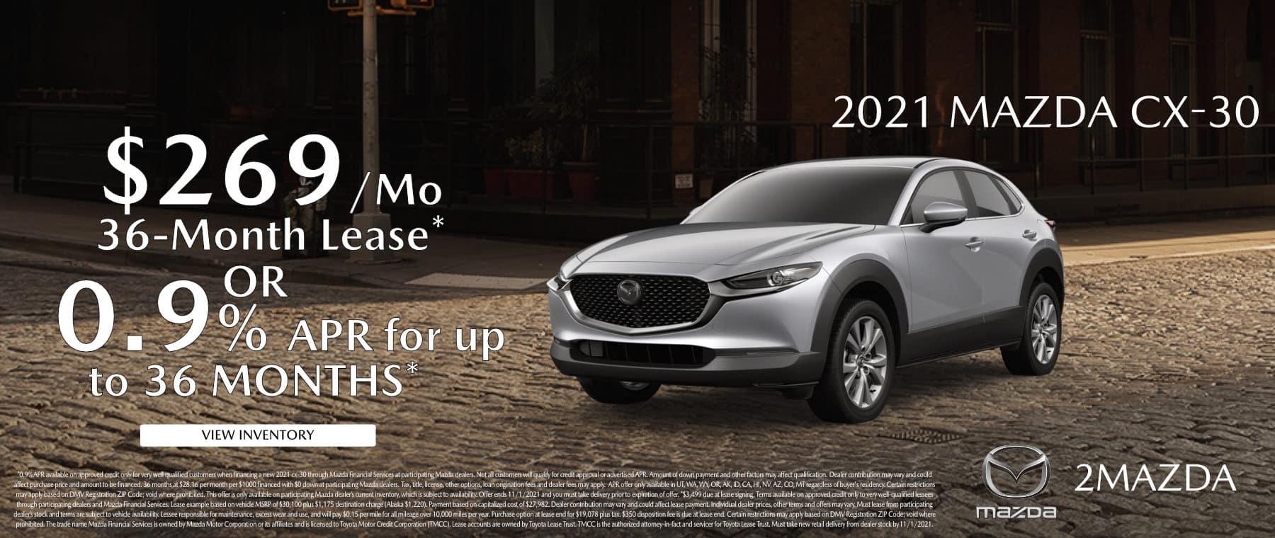 October_2021 Mazda CX-30 2Mazda