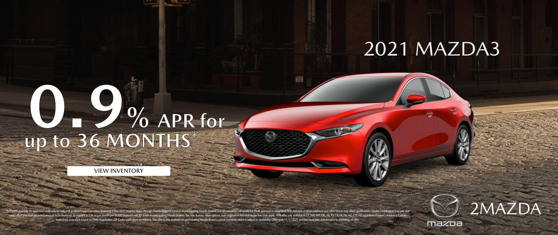 October_2021 Mazda3 2Mazda
