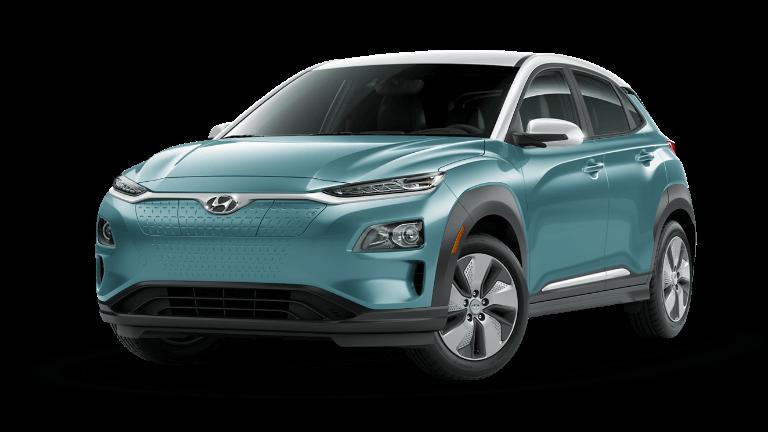 2022 Hyundai Kona Electric SEL - Ceramic Blue