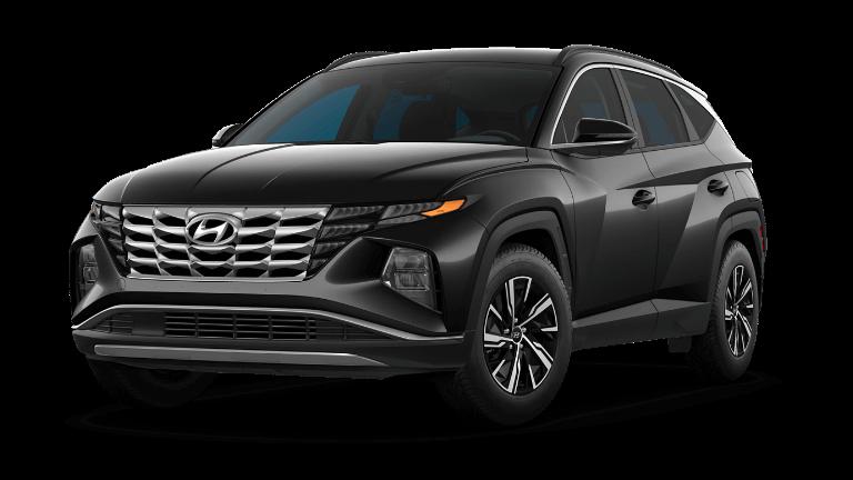 2022 Hyundai Tucson Hybrid Blue - Phantom Black