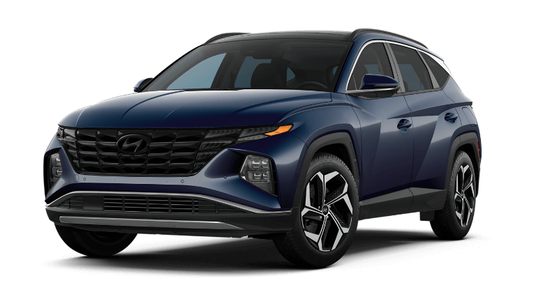 2022 Hyundai Tucson Hybrid Limited - Deep Sea