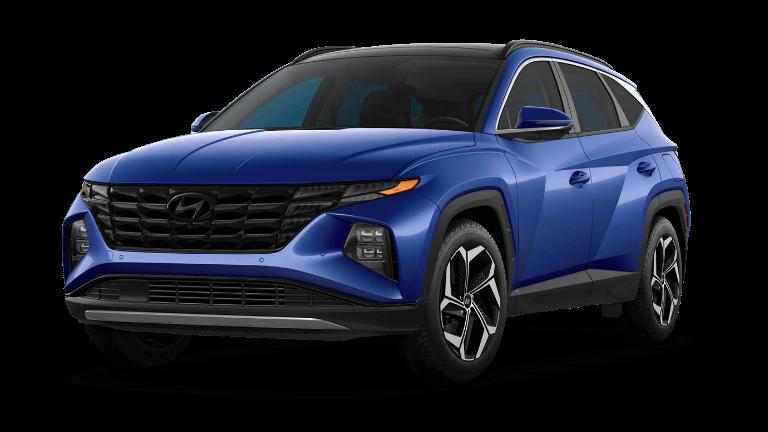 2022 Hyundai Tucson Limited - Intense Blue