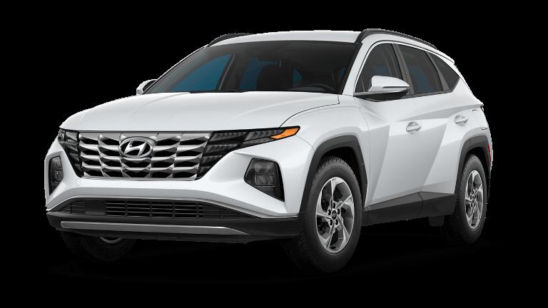 2022 Hyundai Tucson SEL - Quartz White
