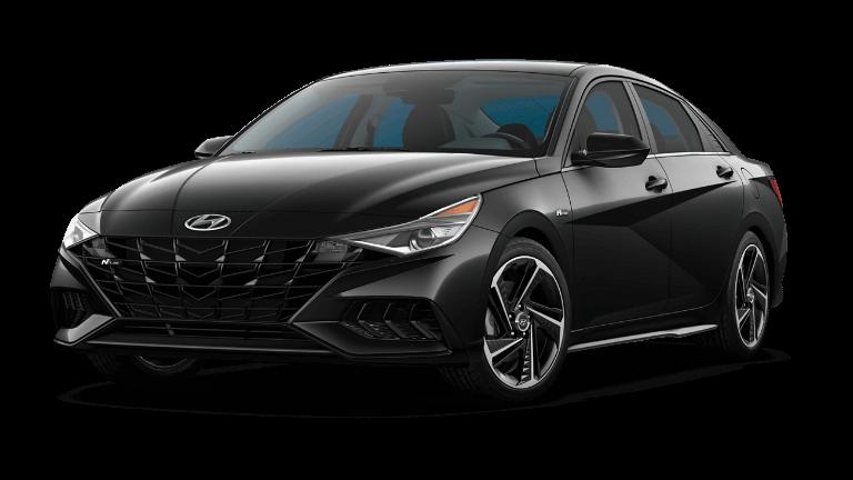 2022 Hyundai Elantra N Line - Black