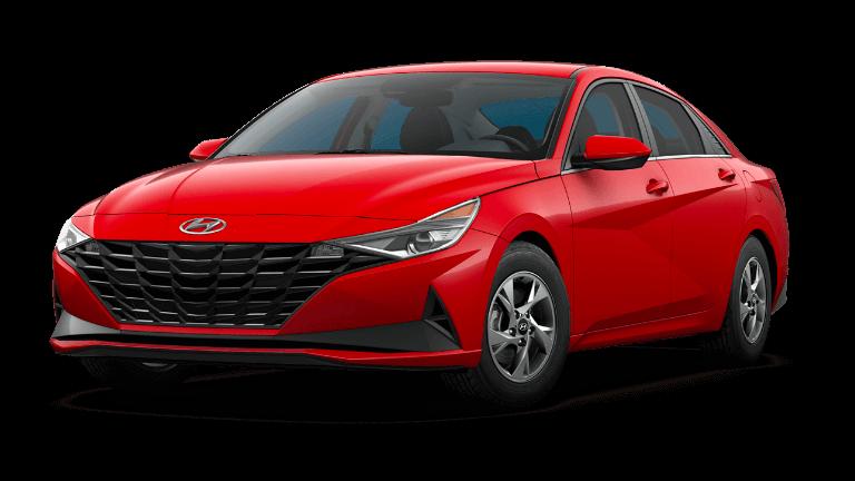 2022 Hyundai Elantra SE - Red