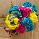 tie-dye technique