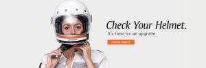 Check your Helmet