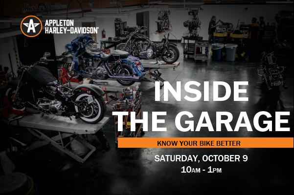 Inside the Garage Event Info