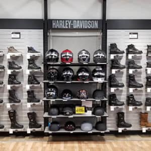 helmets and boots