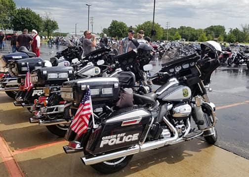 police motorycles