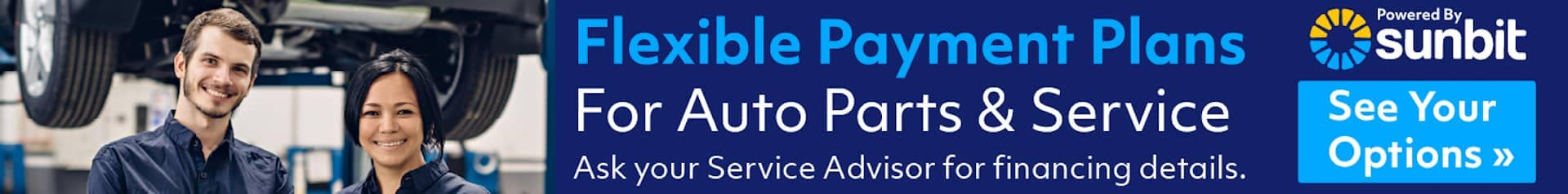 Service & Parts Buy now, Pay Later