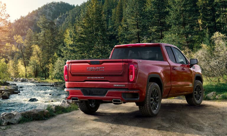 2021 GMC Sierra 1500 exterior red