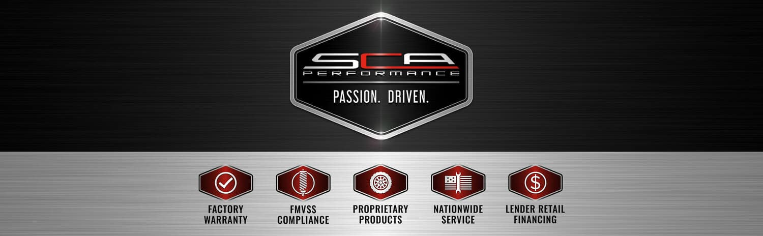 SCA Performance banner