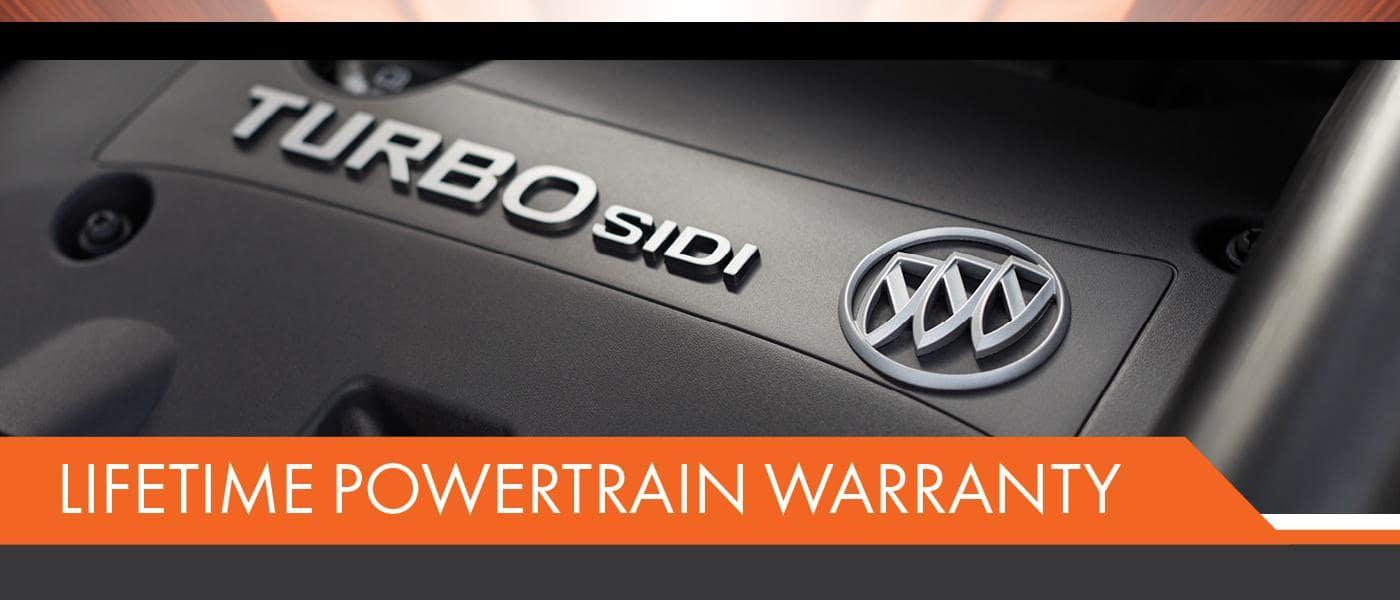 lifetime powertrain warranty banner