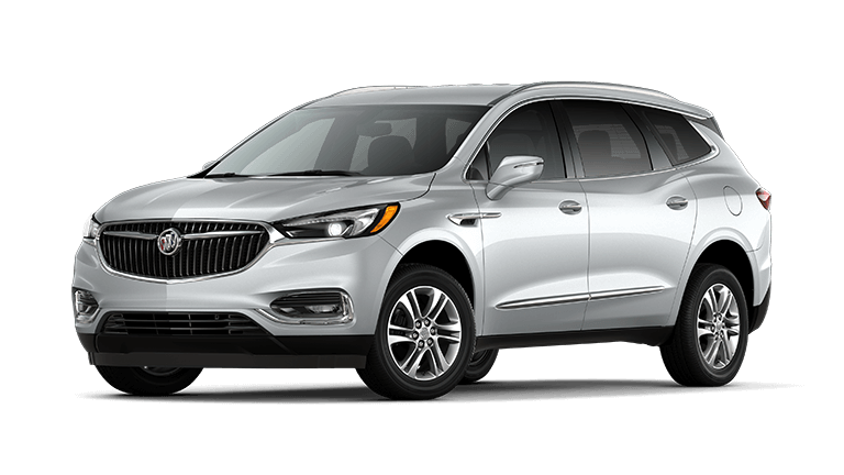 2021 Buick Enclave Essence in Quick Silver exterior