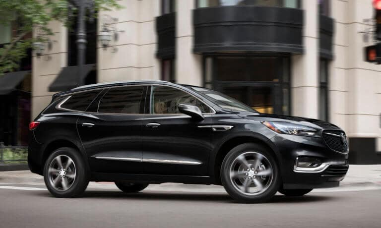 2021 Buick Enclave exterior in city parked