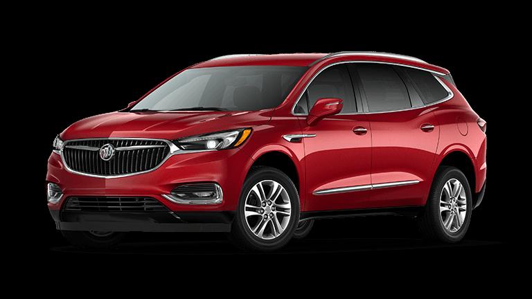 2021 Buick Enclave Preferred in Red Quartz exterior