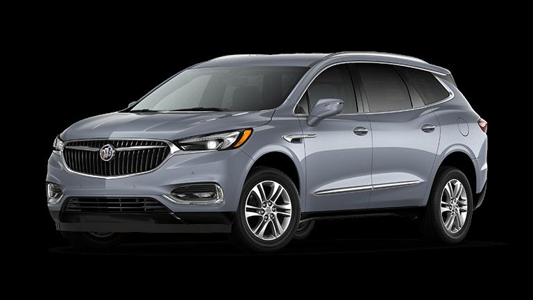 2021 Buick Enclave Premium in Satin Steel exterior