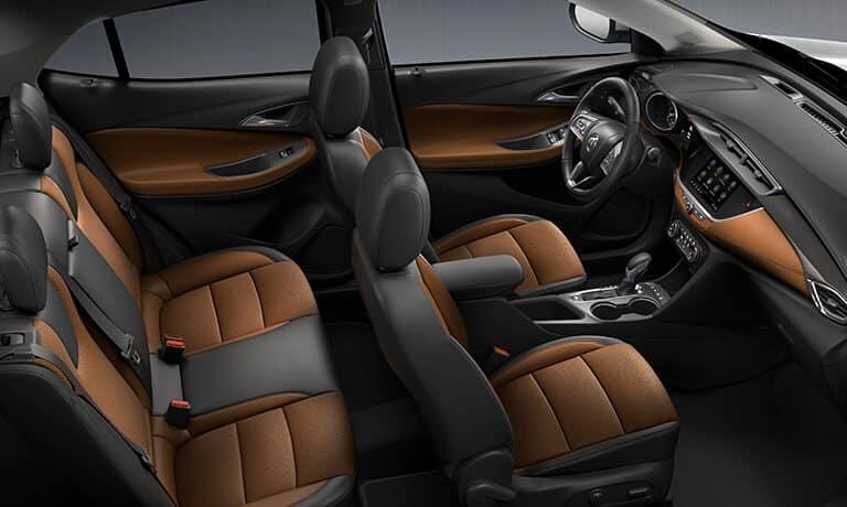 2021 Buick Encore GX interior seats and stitching