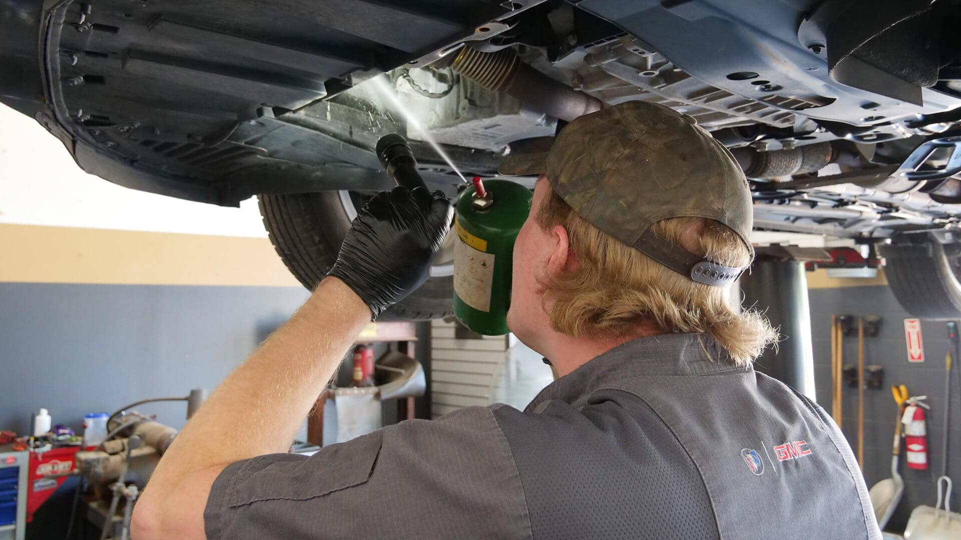 Certified Technician from Buick GMC of Rochester