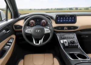 2022 Hyundai Santa Cruz interior