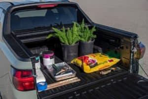 2022 Santa Cruz truck bed