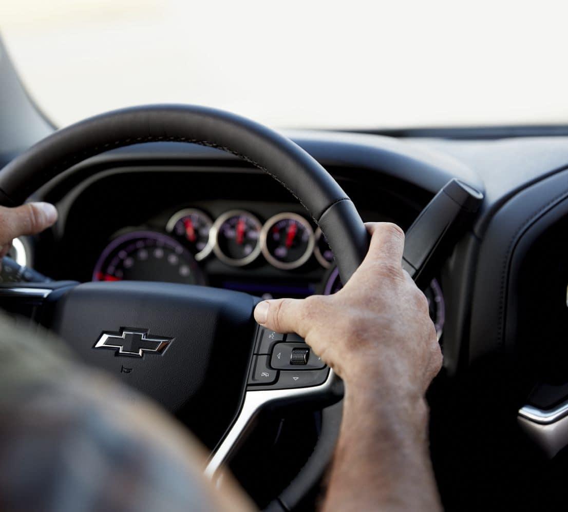 Steering wheel of Chevrolet