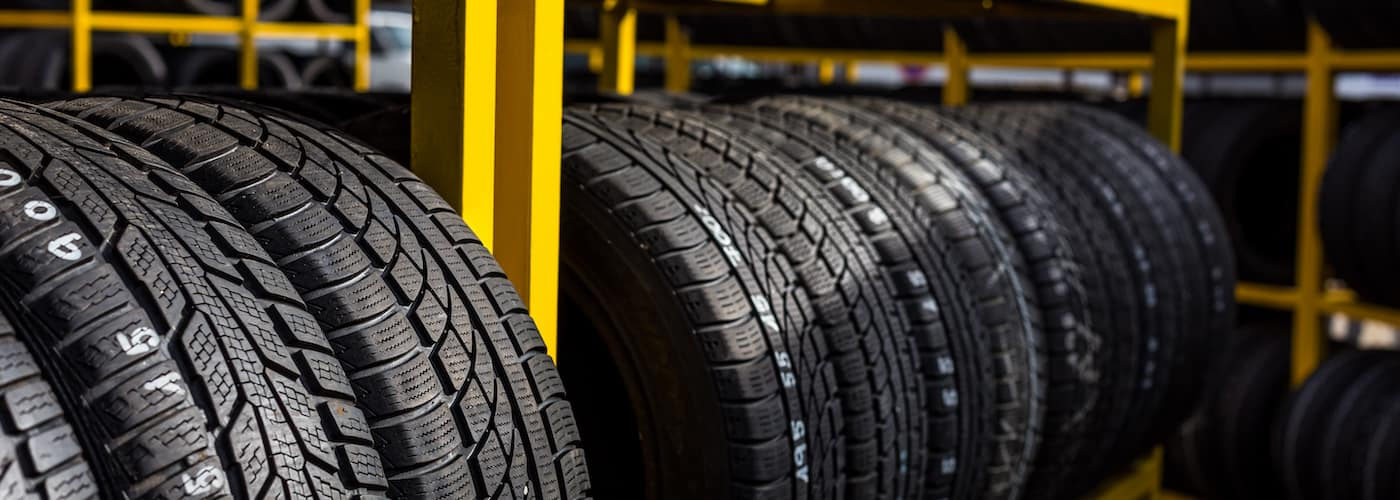 tires for sale at tire store
