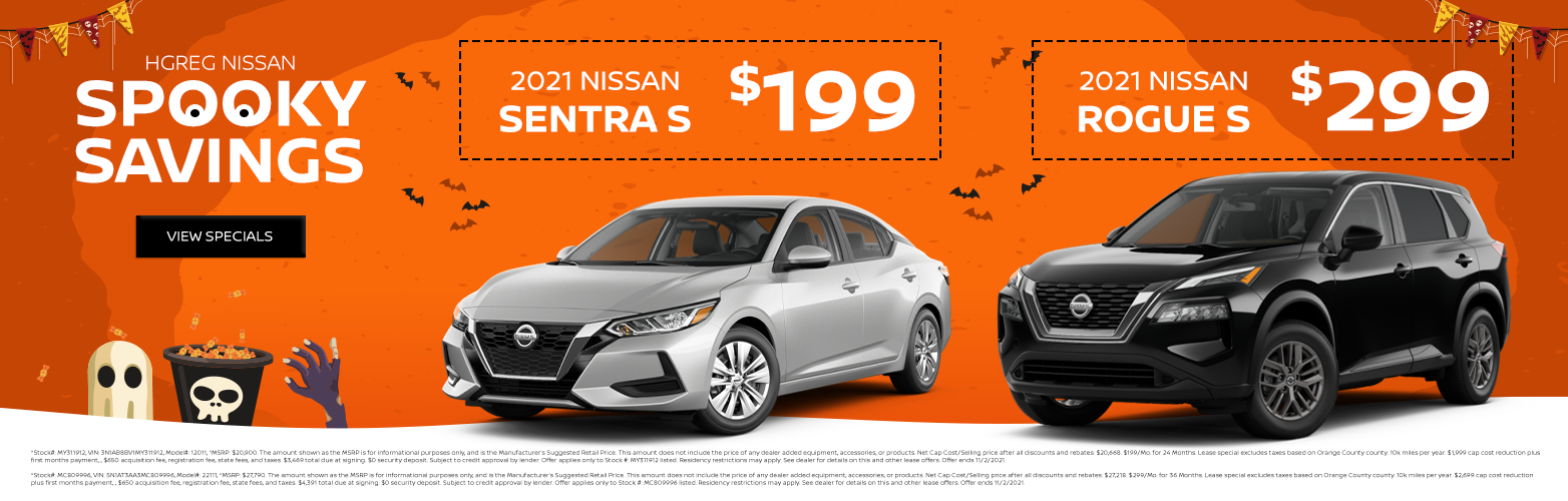 New nissan sentra Rogue S lease special in orange county