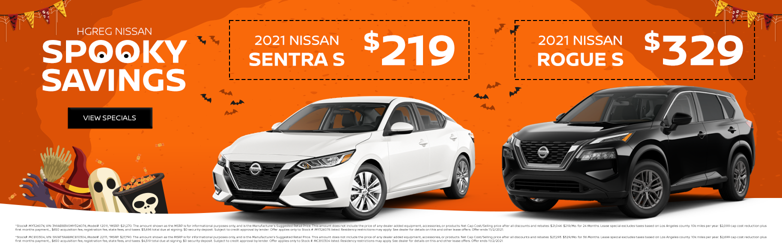 new nissan sentra s and rogue s lease special for sale in california