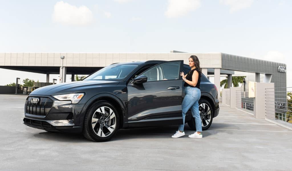 Audi e-tron at Holman Automotive