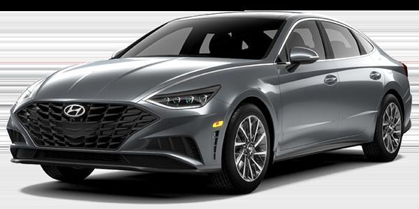 2021 Hyundai Sonata Limited grey color.