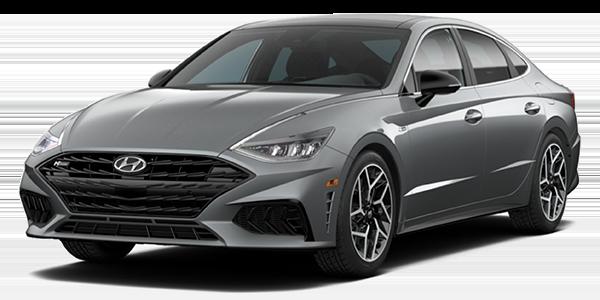 2021 Hyundai Sonata N Line grey color.