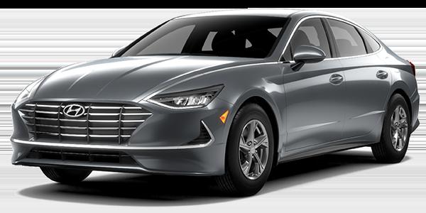2021 Hyundai Sonata SE in grey.