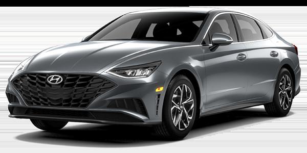 2021 Hyundai Sonata SEL in grey.