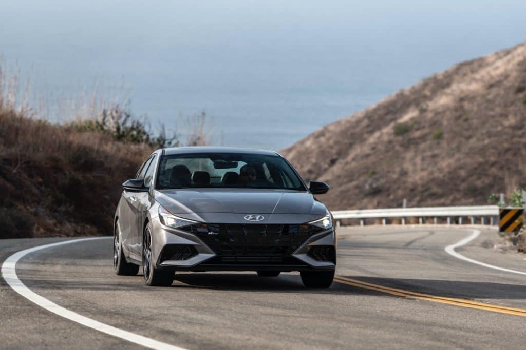 2022 Hyundai Elantra N Line gray