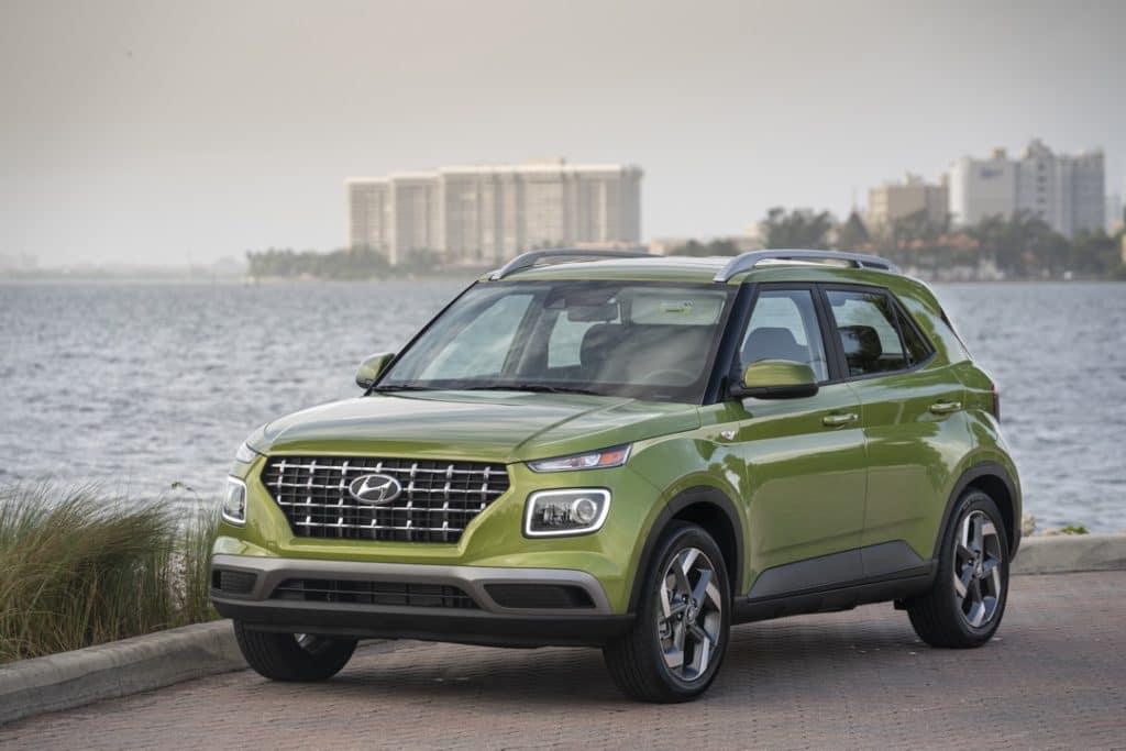 2022 Hyundai Venue SEL green harbor