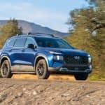 2022 Hyundai Santa Fe XRT Blue trail