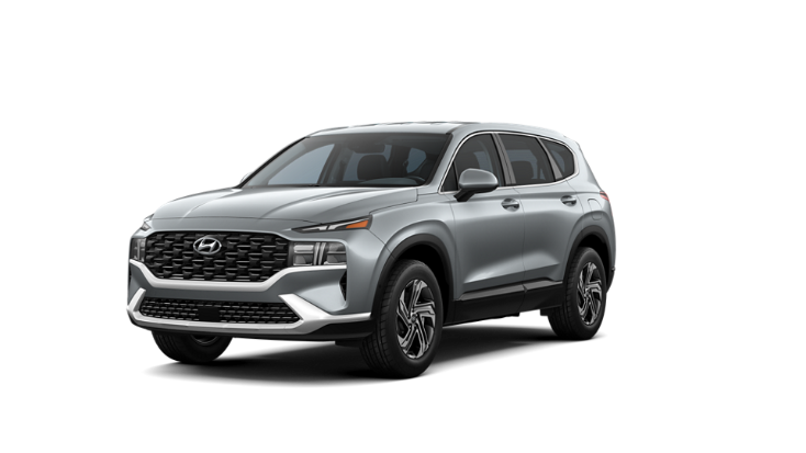 2022 Hyundai Santa Fe SE in grey.