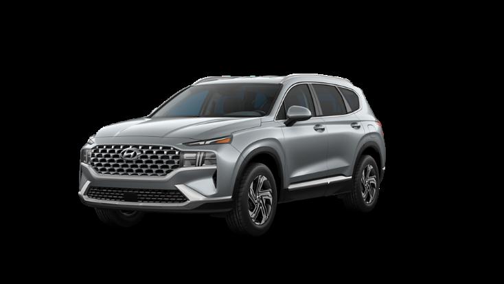 2022 Hyundai Santa Fe SEL in grey.
