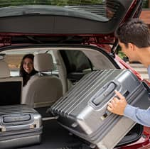 Model Features of the 2021 Buick Envision at Jack Giambalvo Buick-GMC | Packing the trunk with luggage