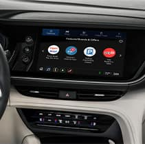 Model Features of the 2021 Buick Envision at Jack Giambalvo Buick-GMC | Dash board options and apps