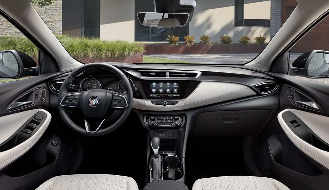 Model Features of the 2022 Buick Encore GX at Jack Giambalvo Buick-GMC | Interior of the 2022 Buick Encore GX