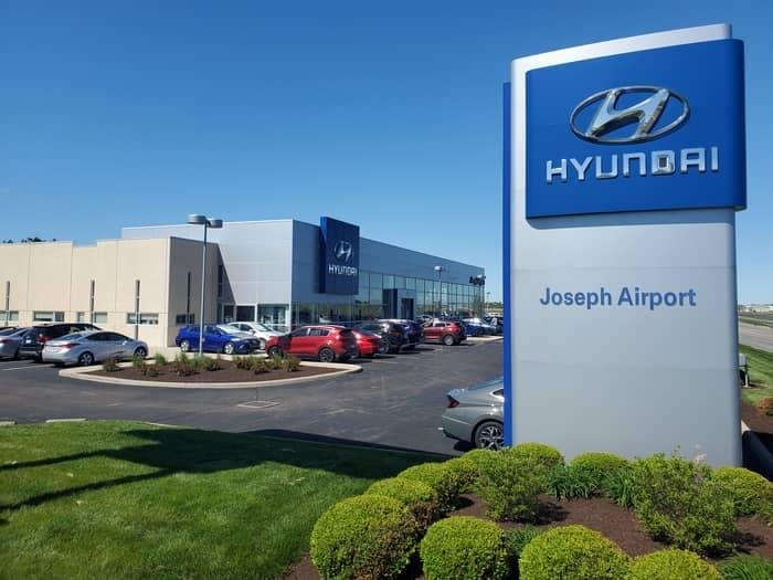 Joseph Airport Hyundai Dealership
