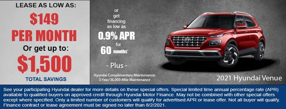 2021 Hyundai Venue Special