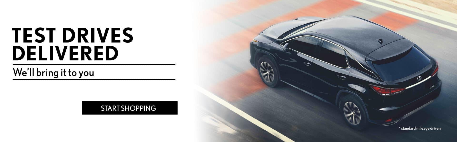 Lexus Test Drive in Eugene