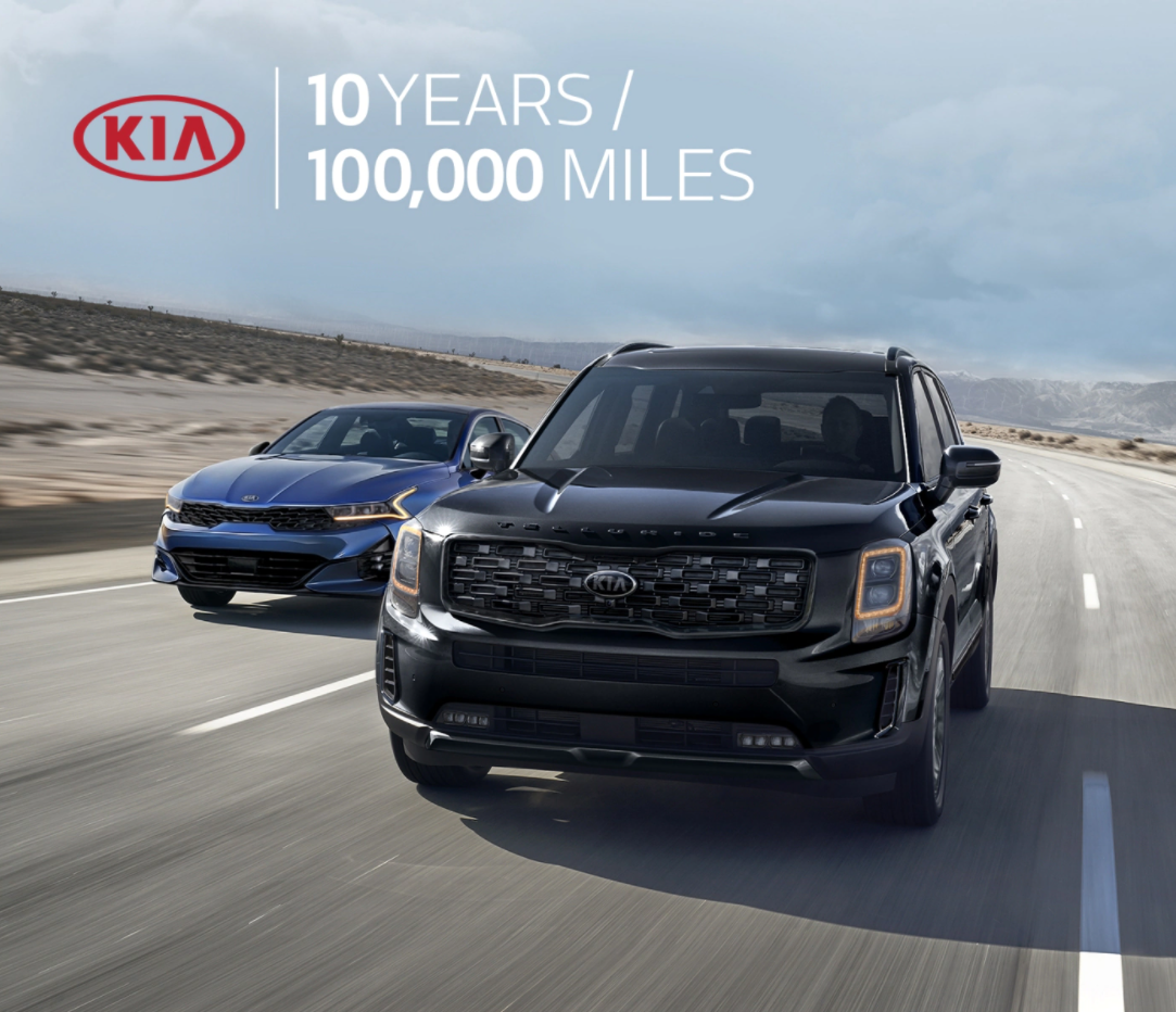 Kia Warranty - 10 Years / 100,000 Miles