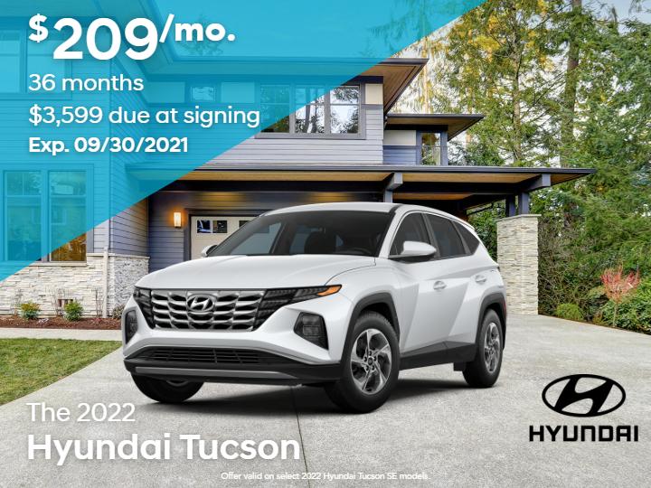 New 2022 Hyundai Tucson SE FWD 4D Sport Utility