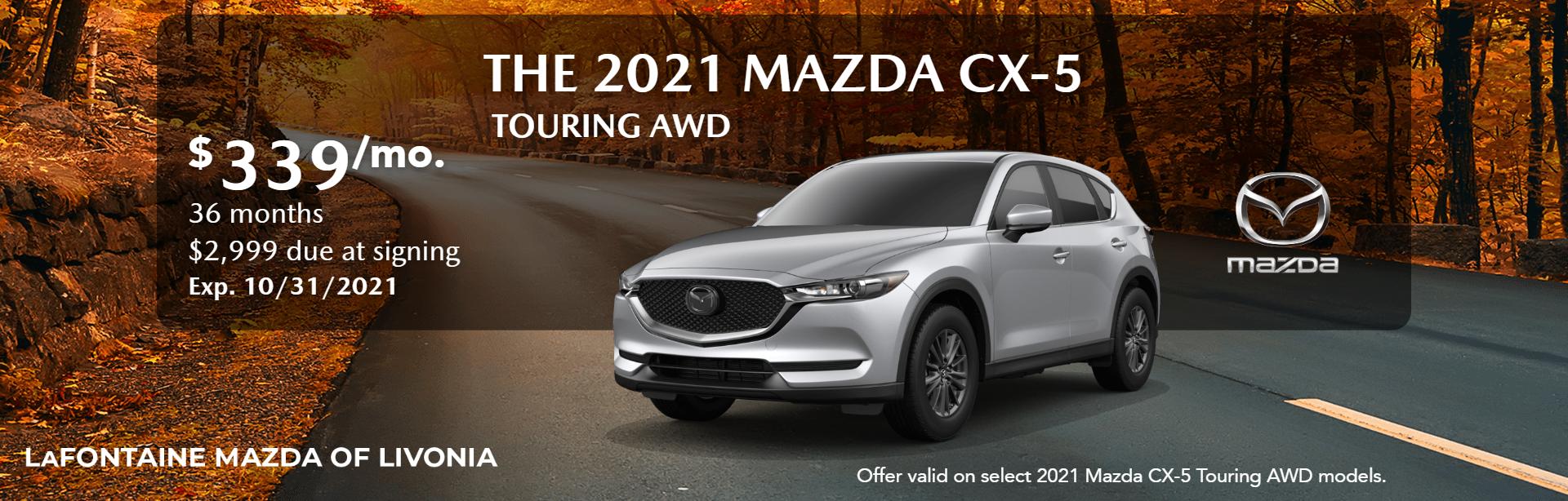 2021_Mazda_CX-5_Touring AWD_Web site Banner