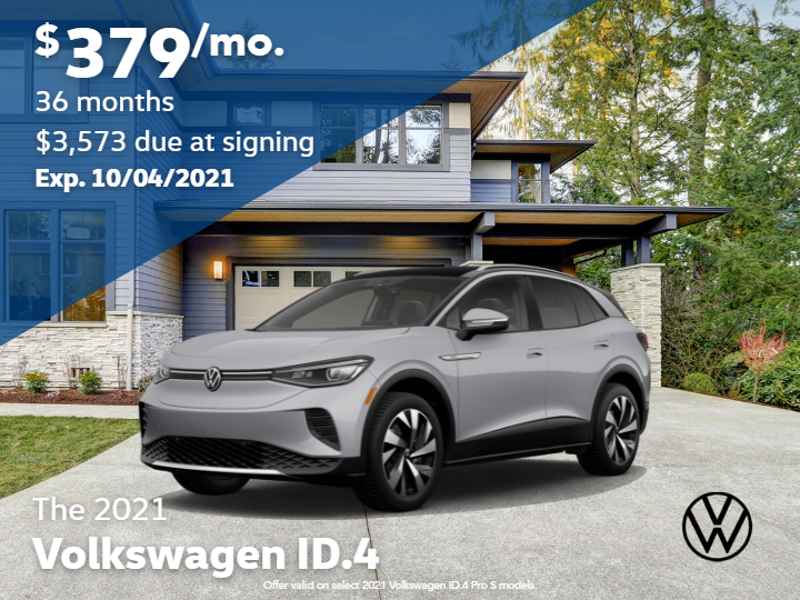 New 2021 Volkswagen ID.4 Pro with Automatic Transmission